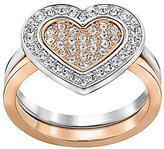 Swarovski Cupid Pave Heart Ring