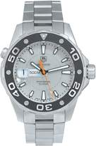 TAG Heuer Tag Heuer Pre-Owned Gents Aquaracer Steel Watch. With Original Paperwork. Ref WAJ1111