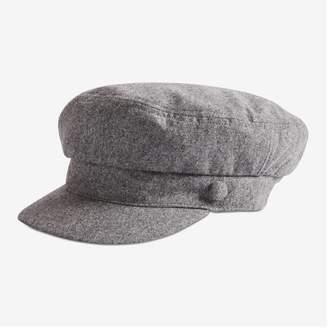 Joe Fresh Newsboy Cap, Charcoal (Size O/S)
