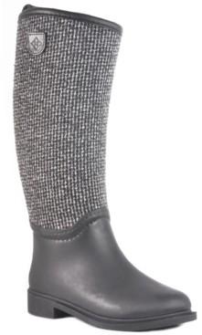 dav Cardiff Waterproof Women's Tall Rain Boot Women's Shoes