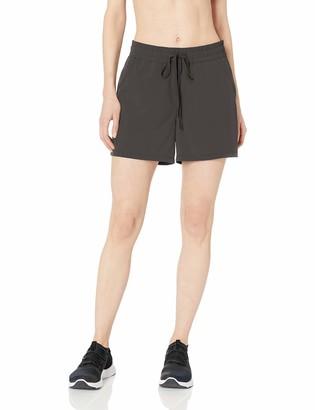 Amazon Essentials Women's Studio Woven Stretch Short