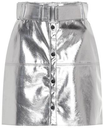 MSGM Metallic miniskirt