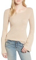 Hinge Women's Sparkle Bell Sleeve Sweater