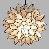 Cost Plus World Market Small Capiz Lotus Pendant Shade