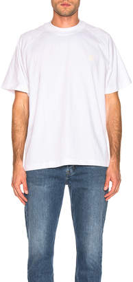 Acne Studios Bassetty Uni Tee in White | FWRD