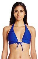Robin Piccone Women's Yolanda Keyhole Halter Bikini Top