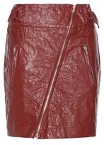 Isabel Marant Breezy faux leather miniskirt