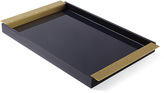 Serena & Lily Lacquer Brass Tray