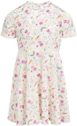Peppa Pig Toddler Girls Stars & Rainbows Dress