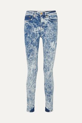 Victoria Victoria Beckham Victoria, Victoria Beckham - High-rise Skinny Jeans - Blue