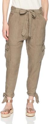Joie Women's Erlette Linen Cargo Pants