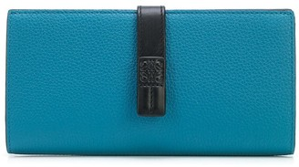 Loewe strap-detail continental wallet