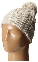 Hat Attack Cable Hat with Pom