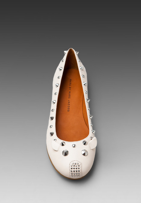 Marc by Marc Jacobs Mouse Ballerina Flat