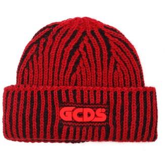 GCDS Logo Knitted Beanie