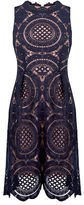 "Oasis LACE DRESS [span class=""variation_color_heading""]- Navy[/span]"