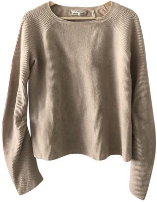 Helmut Lang Beige Cashmere Knitwear