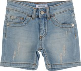 Bikkembergs Denim shorts - Item 42480550