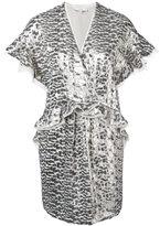 IRO tie waist kimono - women - Polyester - 38