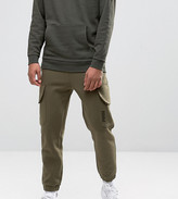 Puma Skinny Cargo Joggers in Green Exclusive to ASOS