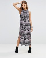 Free People Sound Madness Midi Dress