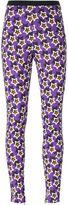 Ungaro star print leggings - women - Rayon/Other fibres - 46