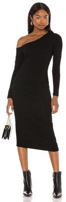 ASTR the Label Off Shoulder Midi Dress