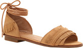 Lucky Brand Women's Gelso Ankle Tie Sandal