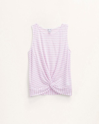 Splendid Girl Yarn Dye Knot Tank