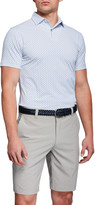 Peter Millar Men's Open Wheel Stretch-Jersey Polo Shirt