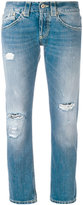 Dondup distressed boyfriend jeans - women - Cotton - 25
