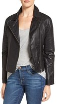 BB Dakota Women's Stafford Washed Leather Jacket
