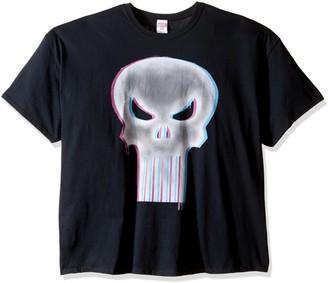Marvel Men's Punisher Glow Men's T-Shirt