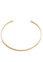 Gorjana Hammered Choker Necklace