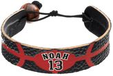 GameWear Chicago Bulls Joakim Noah Leather Basketball Bracelet