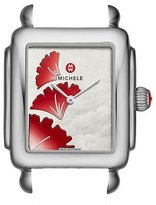 Michele 16mm Deco Gingko Watch Head