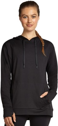 Danskin Women's Dropped Shoulder Hoodie