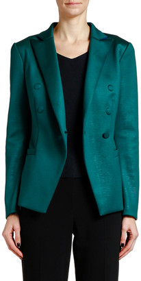 Giorgio Armani Satin Jersey Jacket