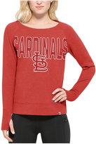 '47 Women's St. Louis Cardinals React Crew Sweatshirt