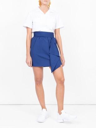 Maison Rabih Kayrouz pinstriped skirt