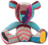 The Elder Statesman patchwork teddy bear - unisex - Cashmere - One Size