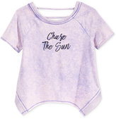 Kandy Kiss Short Sleeve Bar-Back Sweatshirt, Big Girls (7-16)