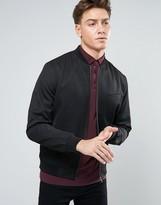 New Look New Look Smart Bomber Jacket In Black
