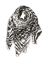 Salvatore Ferragamo Cashmere & Silk Printed Gauze Scarf