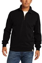 Carhartt Men's Big & Tall Knit Quarter-Zip Relaxed-Fit Pullover