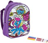My Little Pony Scribble Me Backpack - Rainbow Dash