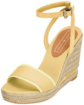 Tommy Hilfiger Women's Iconic Elena Tommy Pastel Platform Sandals Yellow (Golden Haze 731) 6.5 UK (40 EU)
