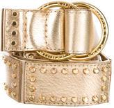Michael Kors Metallic Stud-Embellished Belt