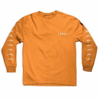 Lakai Unisex-Adult's Flared L/S TEE ORANGESize S