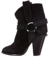 Etoile Isabel Marant Suede Gaucho Ankle Boots